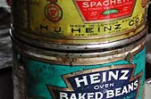 Heinz cans from 1933 camp