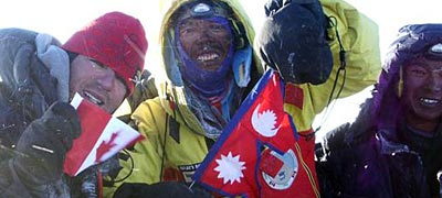 International Mountain Guides has guided record breaking numbers of climbers to the summit of Mt Everest.