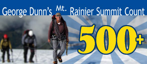 IMG Director George Dunn Achieves a Record 500 Mt. Rainier Summits