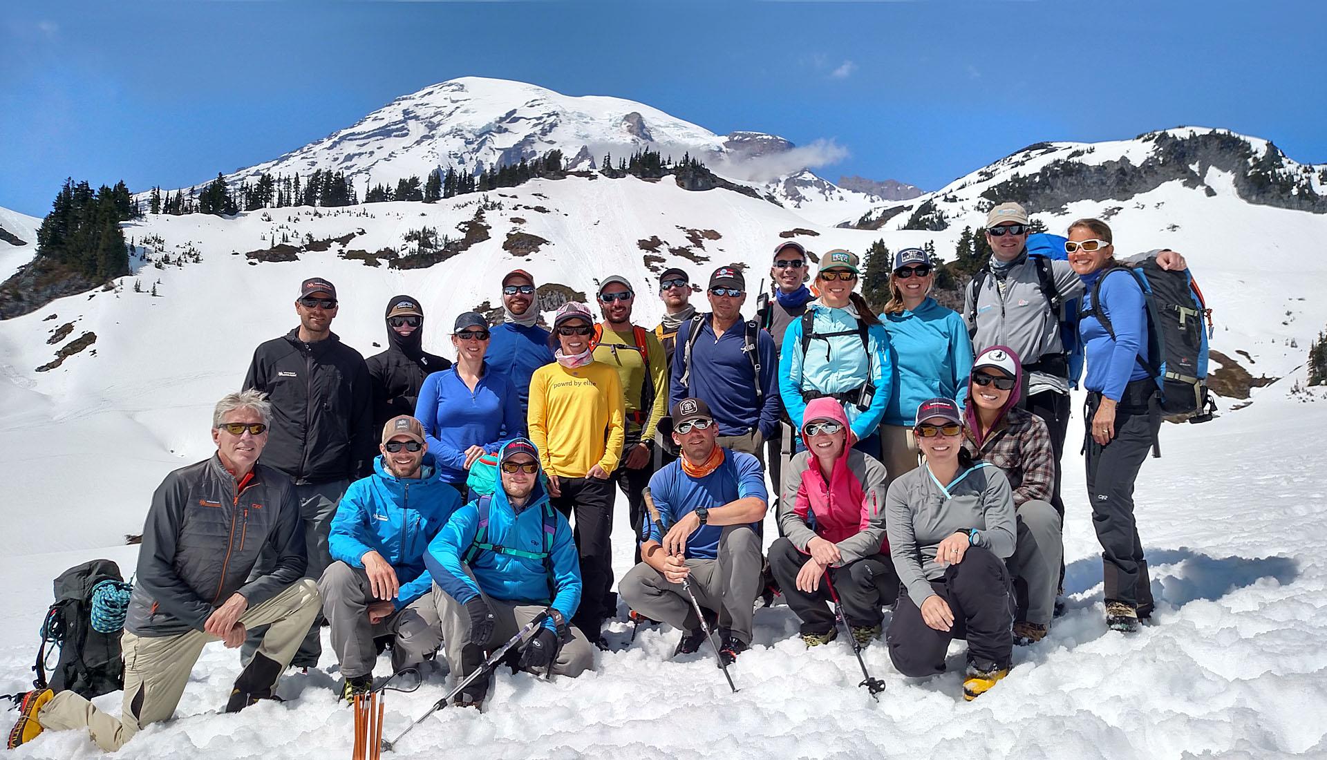 Mt. Rainier 4 day climb   rmi expeditions.