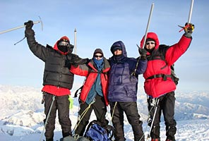 High Alaskan Ascents with International Mountain Guides
