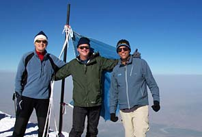 IMG team on the summit of Ararat, Turkey