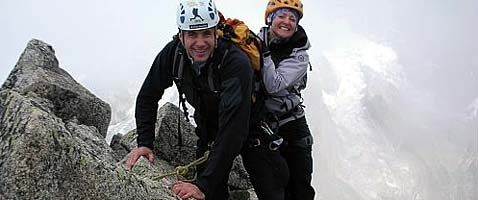 Chamonix Alpine Climbs with International Mountain Guides