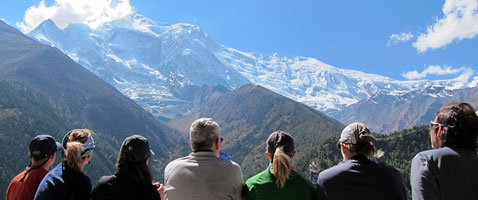 Chulu Peak Himalayan Climb and Annapurna Nepal Trek with International Mountain Guides