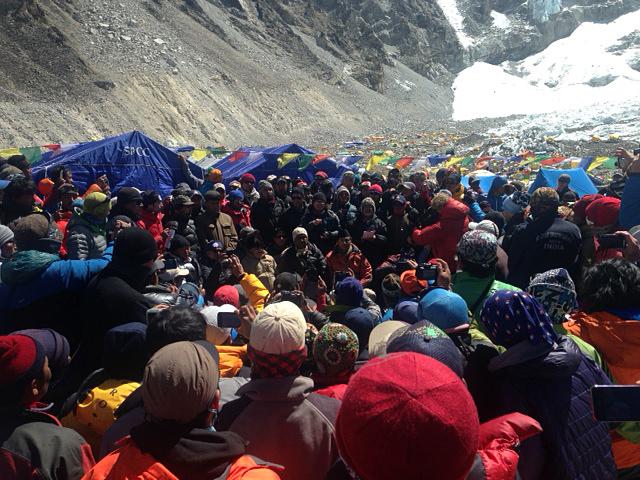 The Juniper Fund Women/'s Mount Everest T-Shirt
