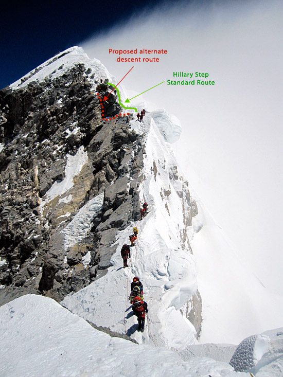 K2 Mountain Map Alternate Hillar...