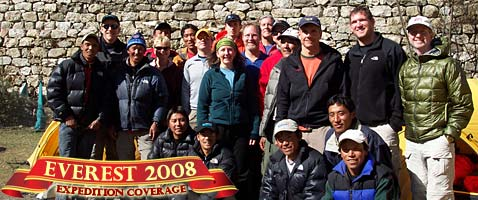 2008 Everest Expedition with International Mountain Guides