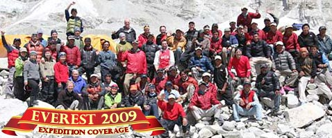 2009 Everest Expedition with International Mountain Guides