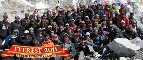 2011 Everest Expedition Coverage with International Mountain Guides