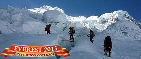 2013 Everest Expedition Coverage with International Mountain Guides