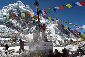 IMG Everest base camp puja ceremony