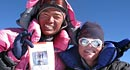 IMG guide Dave Hahn celebrates his 10th Everest summit