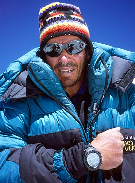 Phil Ershler on Summit of Everest
