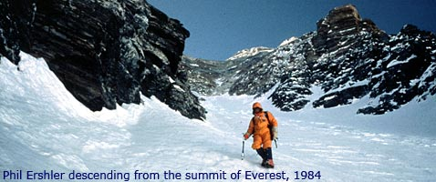 Phil Ershler 25th Anniversary of summitting Everest