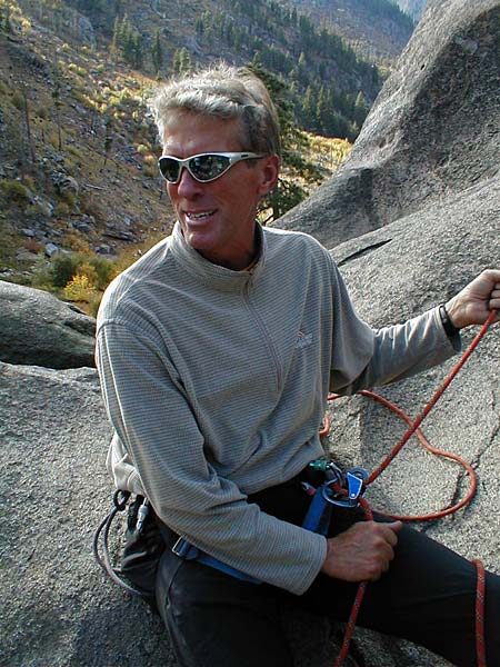 IMG Partner belaying in Leavenworth, WA