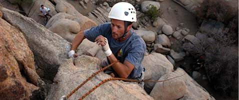 Joshua Tree Rock Climbing Seminars with International Mountain Guides