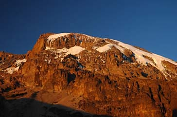 Kilimanjaro from the Baranco Camp (Photo: Robyn Garrison)