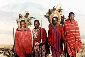 Masai on the International Mountain Guides Kilimanjaro African Safari