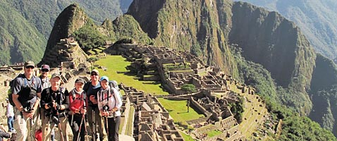 Machu Picchu Trek with International Mountain Guides