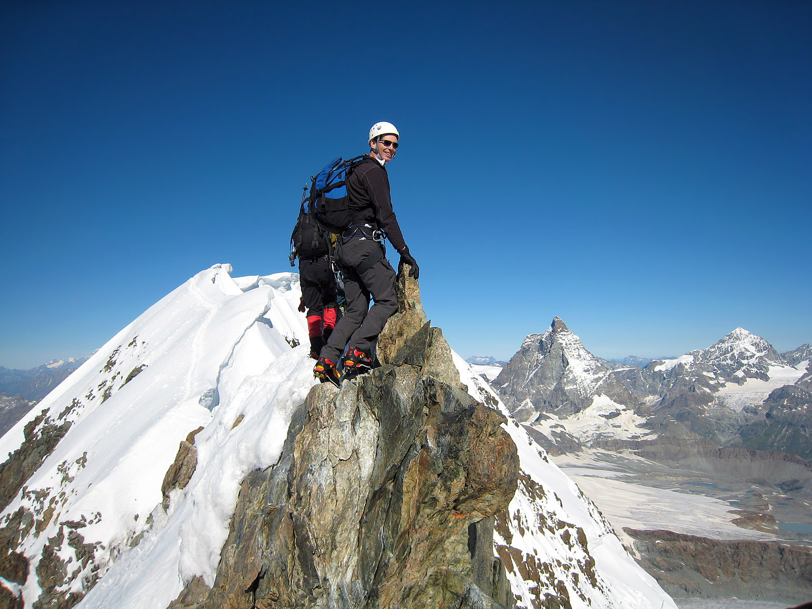 The Matterhorn With International Mountain Guides