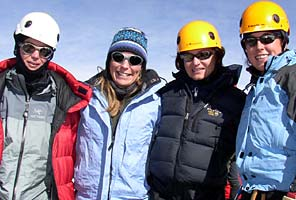 Mexican Volcanoes Climbing Expedition International Mountain Guides