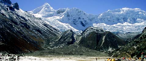 Gran Traverse, Cordillera Blanca, Peru with International Mountain Guides
