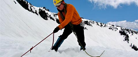 Crevasse Rescue Mountaineering Day School on Mt Rainier with International Mountain Guides