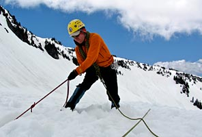 Glacier Skills Mountaineering Seminar on Mt Rainier with International Mountain Guides