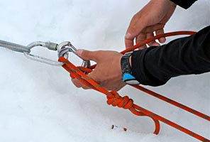 Crevasse Rescue Mountaineering School on Mt Rainier with International Mountain Guides
