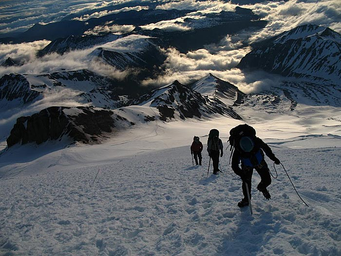 mt Rainier Routes Emmons Glacier mt Rainier Emmons Glacier