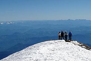 IMG Emmons climbers on the summit of Mt Rainier