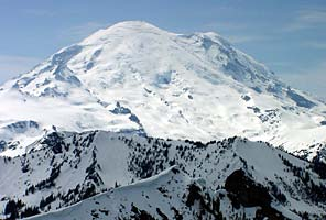 Mt Rainier Fuhrer Finger Route Climb with International Mountain Guides