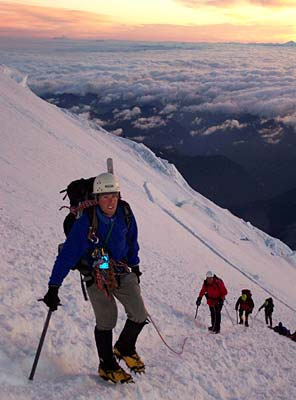 Mt Rainier Climb with International Mountain Guides