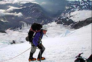 Climbing Mt. Rainier with International Mountain Guides