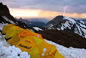 Photo by Ben Babusis (Inter Glacier Camp - Emmons Route)