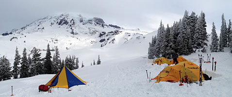 Mt Rainier Winter Seminar Climb with International Mountain Guides