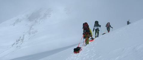 Mt Rainier Denali Winter Seminar Climb with International Mountain Guides
