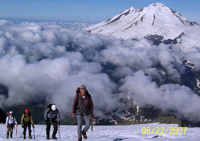 George Dunn Leading Mt. Shuksan 2007