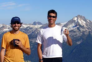 International Mountain Guides on Mt Shuksan, Washington