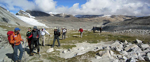 Cho Oyu Tibet Trek with International Mountain Guides