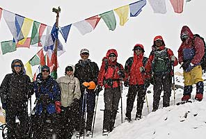 Trekking Tibet to Cho Oyu and Everest base camps with International Mountain Guides