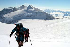International Mountain Guides Antarctic Vinson Climb Expedition