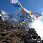 Ama Dablam puja (photo: Justin Merle)