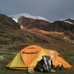 Camp on Illimani (Photo by Greg Vernovage)