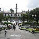 Quito near the Presidential Palace