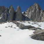 Mt. Whitney from Upper Boy Scout (High Camp).