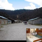 Khumjung School and dorm room. (Photo Anya Zolotusky)
