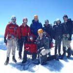 The Team on Mt. Baker (Photo by Katie Kaluza)