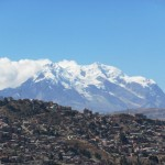 Illimani with La Paz in the foreground. (Photo by Greg Vernovage)