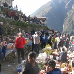 The Namche Weekly Market (Photo by Justin Merle)